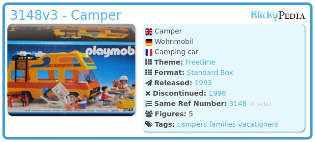 Playmobil 3148v3 - Camper