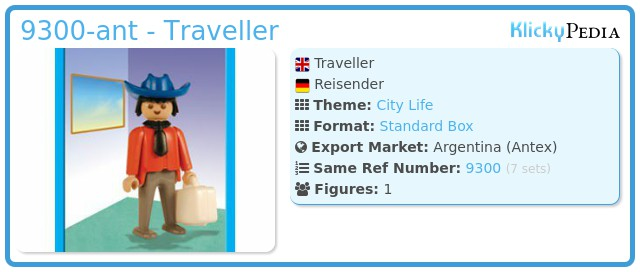 Playmobil 9300-ant - Traveller