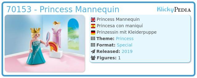 Playmobil 70153 - Princess Mannequin