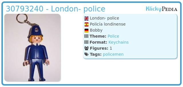 Playmobil 30793240 - London- police
