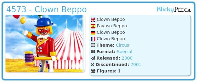 Playmobil 4573 - Clown Beppo
