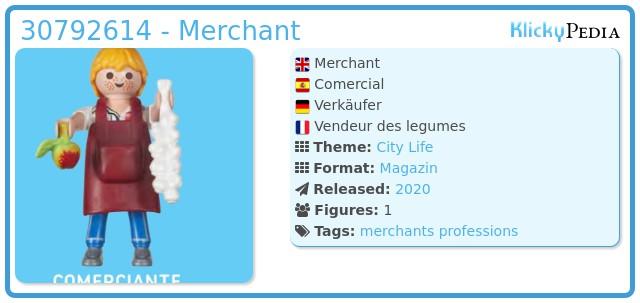 Playmobil 30792614 - Merchant