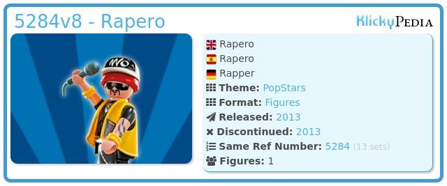 Playmobil 5284v8 - Rapero