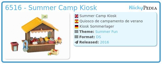 Playmobil 6516 - Summer Camp Kiosk