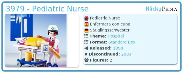 Playmobil 3979 - Pediatric Nurse