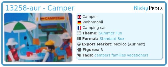 Playmobil 13258-aur - Camper
