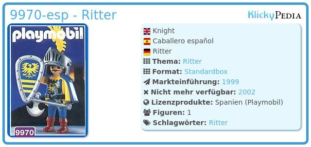 Playmobil 9970-esp - Ritter