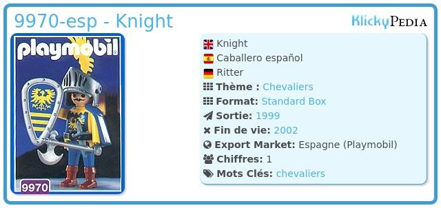 Playmobil 9970-esp - Knight