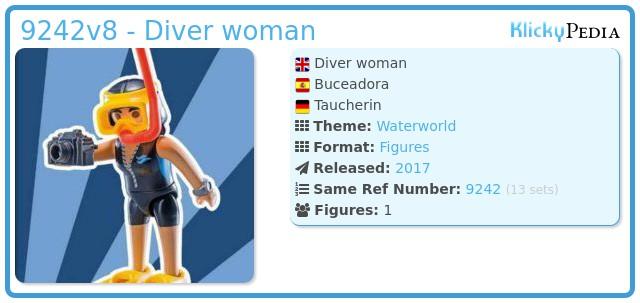 Playmobil 9242v8 - Diver woman