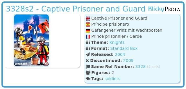 Playmobil 3328s2 - Captive Prisoner and Guard