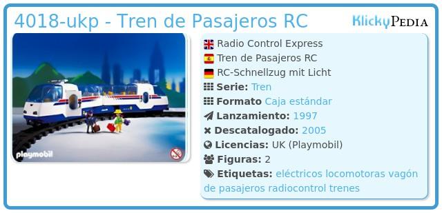 Playmobil 4018-ukp - Radio Control Express