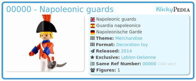Playmobil 00000 - Napoleonic guards