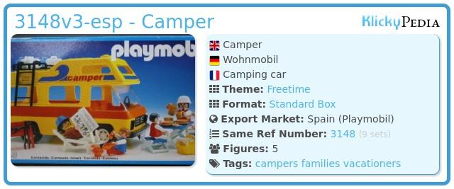 Playmobil 3148v3-esp - Camper