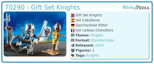 Playmobil 70290 - GiftSet Knight