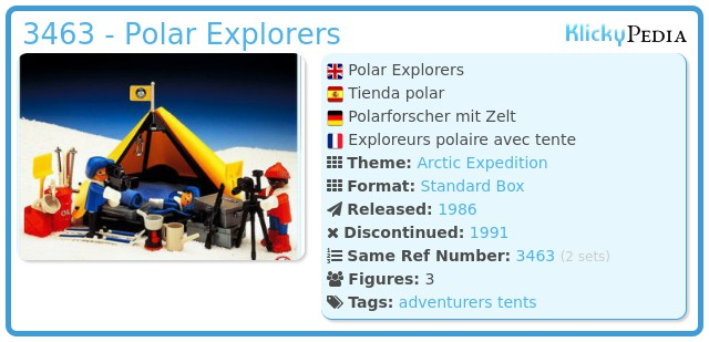 Playmobil 3463 - Polar Explorers
