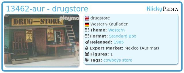 Playmobil 13462-aur - drugstore