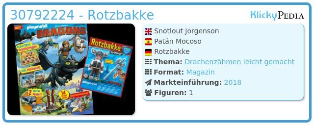 Playmobil 30792224 - Rotzbakke