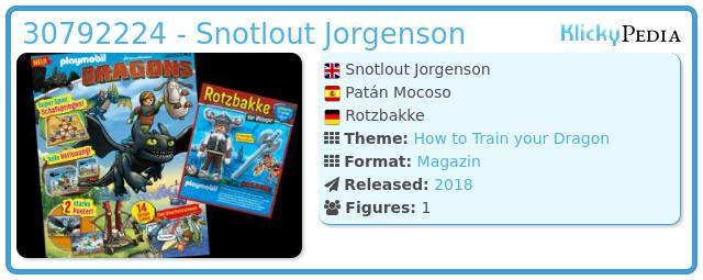 Playmobil 30792224 - Snotlout Jorgenson