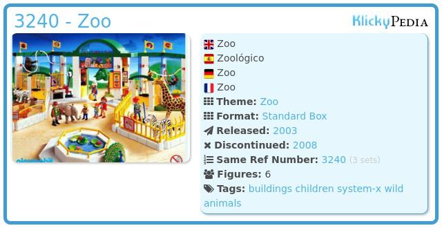 Playmobil 3240 - Zoo