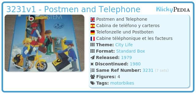 Playmobil 3231v1 - Post office