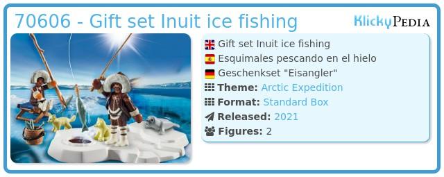 Playmobil 70606 - Gift set Inuit ice fishing