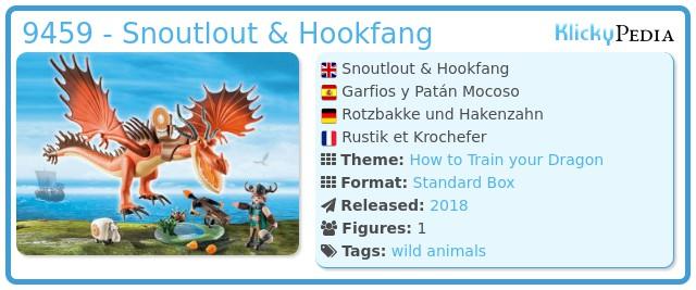 Playmobil 9459 - Snoutlout & Hookfang