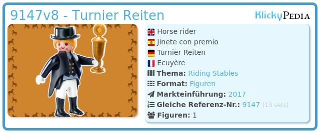 Playmobil 9147v8 - Turnier Reiten
