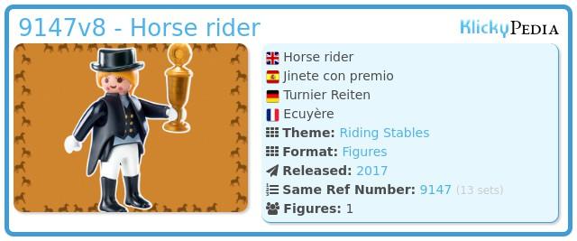 Playmobil 9147v8 - Horse rider