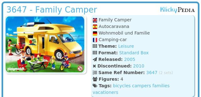 Playmobil 3647 - Family Camper