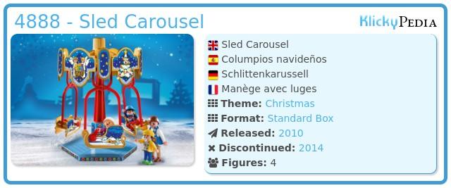 Playmobil 4888 - Sled Carousel