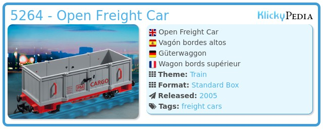Playmobil 5264 - Open Freight Car