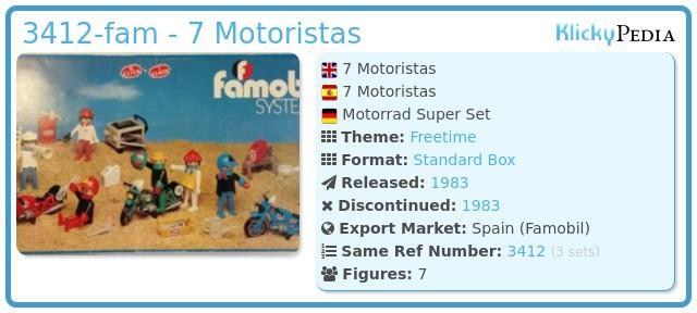Playmobil 3412-fam - 7 Motoristas