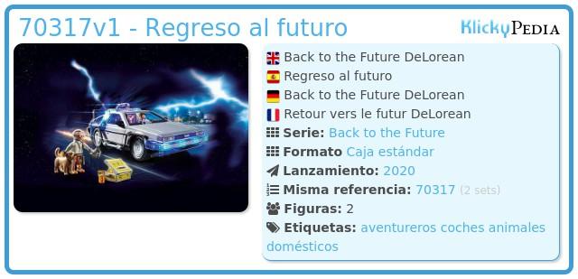 Playmobil 70317 - Regreso al futuro