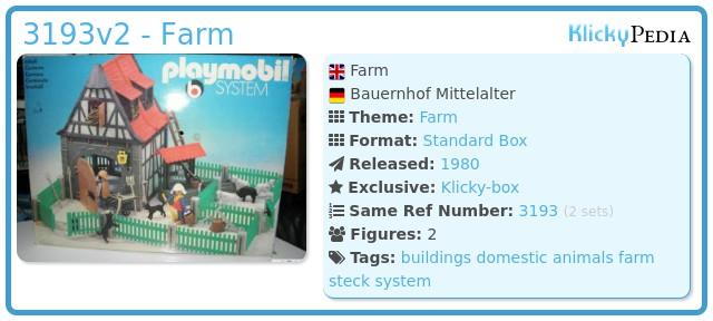 Playmobil 3193v2 - Farm