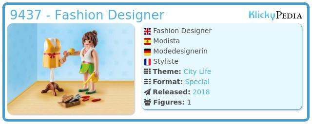 Playmobil 9437 - Fashion Designer