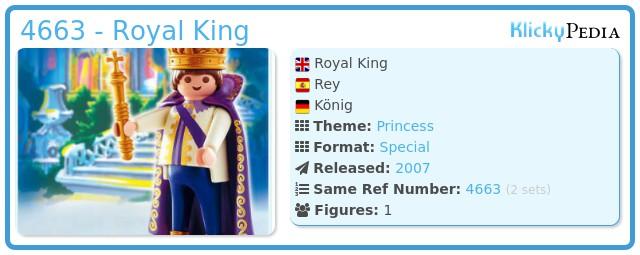 Playmobil 4663 - Royal King