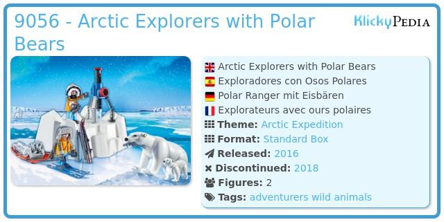 Playmobil 9056 - Arctic Explorers with Polar Bears