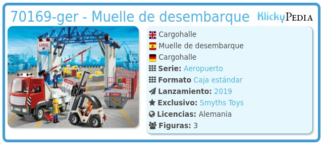 Playmobil 70169-ger - Muelle de desembarque