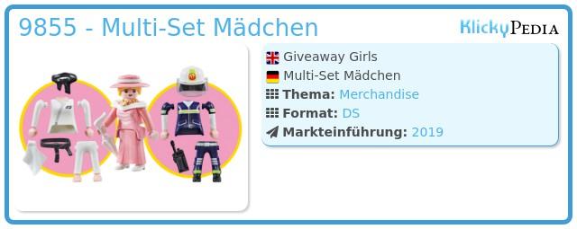 Playmobil 9855 - Giveaway Girls