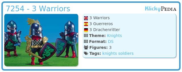 Playmobil 7254 - 3 Warriors