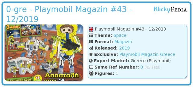 Playmobil 0-gre - Playmobil Magazin #43 - 12/2019
