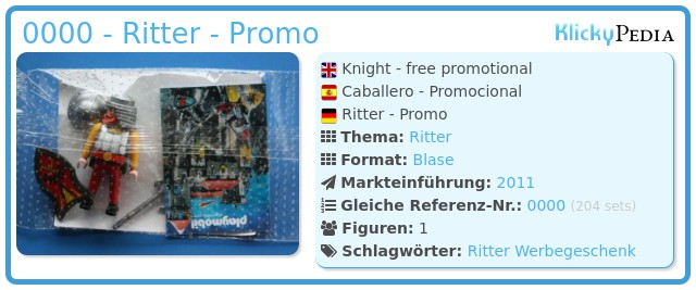 Playmobil 0000 - Ritter - Promo