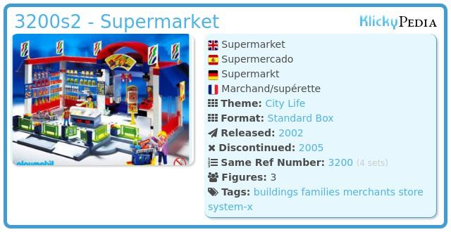 Playmobil 3200s2 - Supermarket