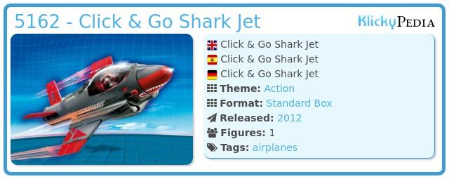 Playmobil 5162 - Click & Go Shark Jet