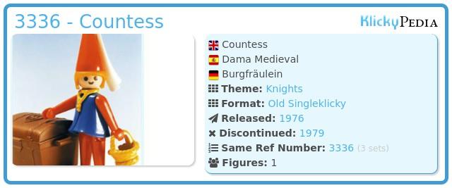 Playmobil 3336 - Countess