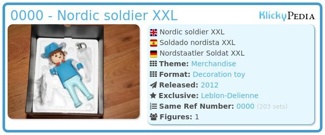 Playmobil 0000 - Nordic soldier XXL