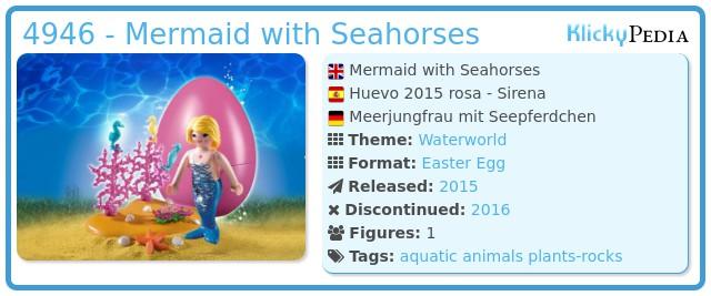 Playmobil 4946 - Mermaid with Seahorses