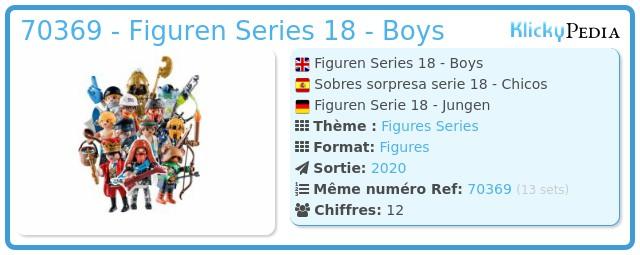 Playmobil 70369 - Figures Series 18 - Boys