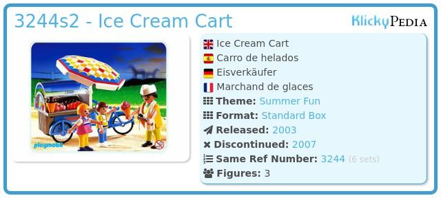 Playmobil 3244s2 - Ice Cream Cart