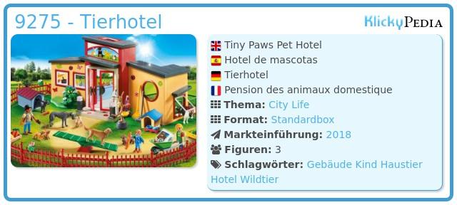 Playmobil 9275 - Tierhotel